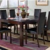 square dining table for 6 photo - 1