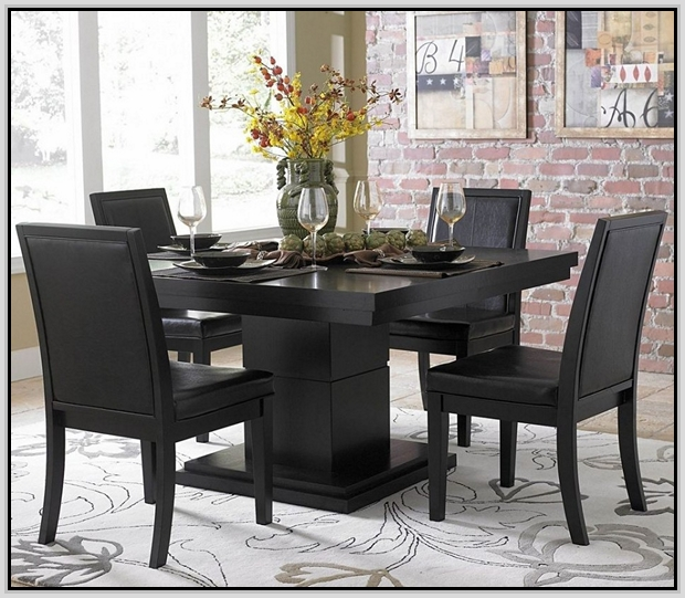 square dining table for 6 photo - 2