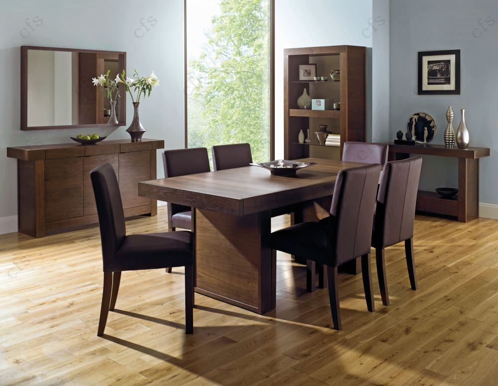 square dining table for 6 photo - 5
