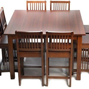 square dining table seats 8 photo - 6