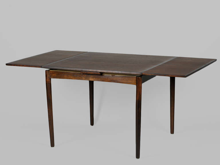 square dining table with leaves photo - 1