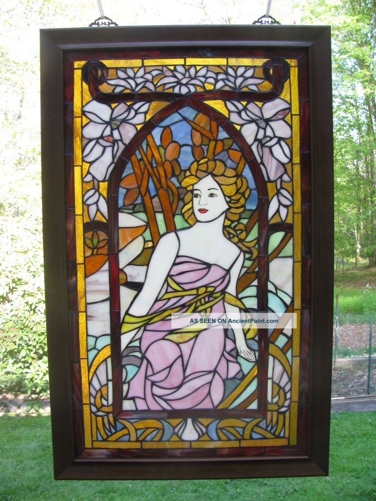 stained glass furniture design photo - 6