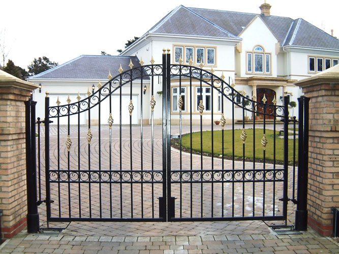 steel gate design photo - 3