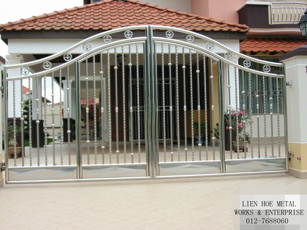 steel gate design photo - 5