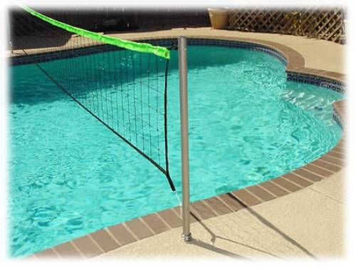 swimming pool designs for volleyball photo - 3