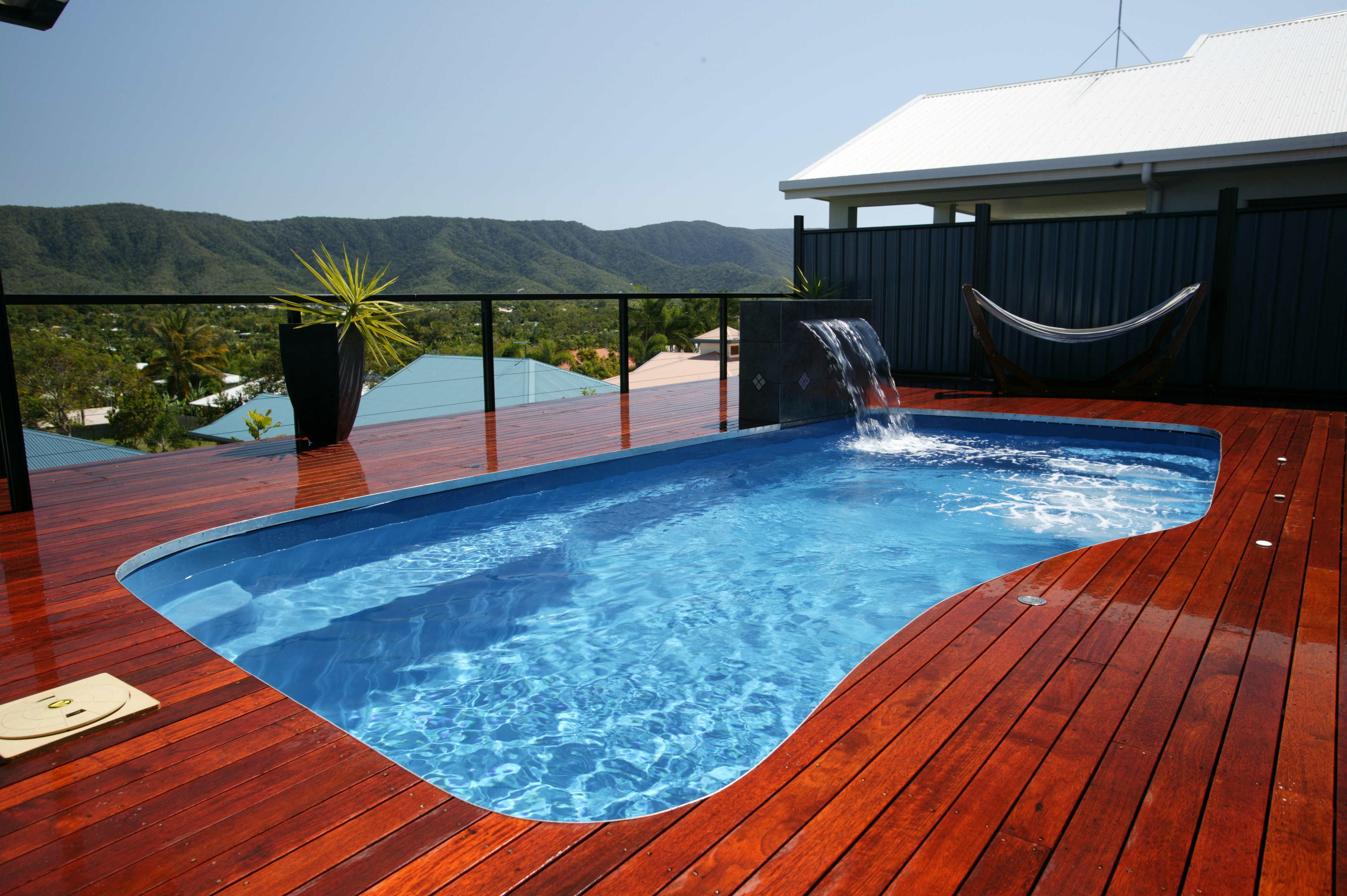 swimming pool designs with decking photo - 4