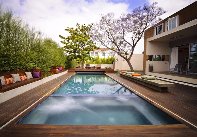 swimming pool designs with decking photo - 5