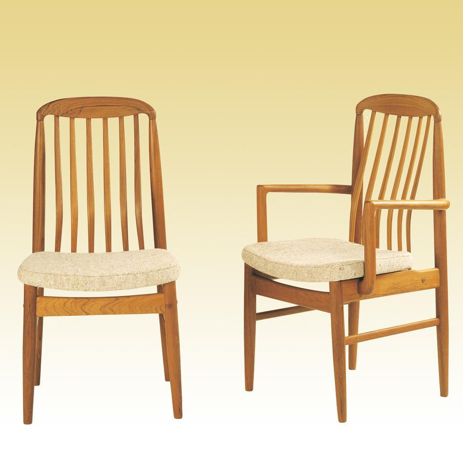 teak chairs dining photo - 3