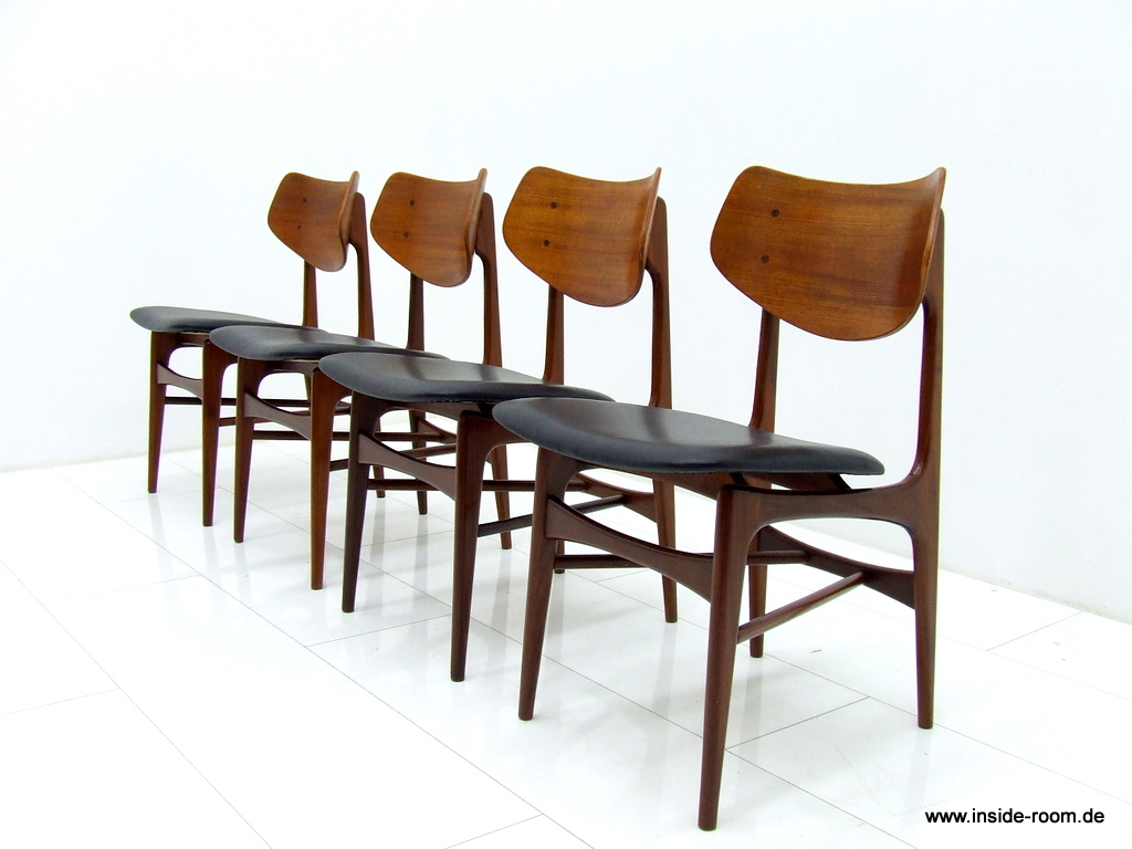 teak chairs dining room photo - 5