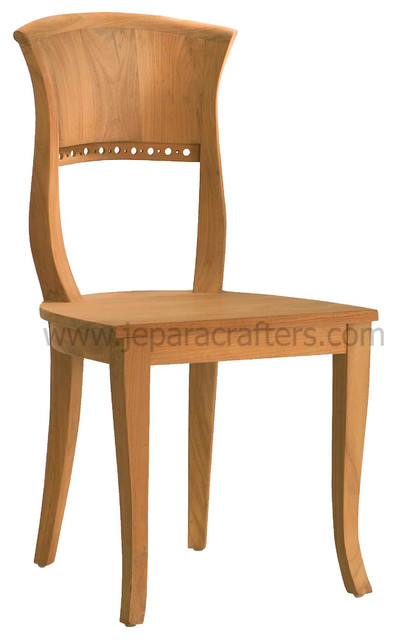 teak dining chairs indoor photo - 2