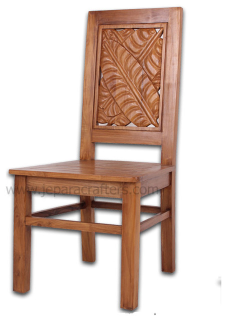 teak dining chairs indoor photo - 3