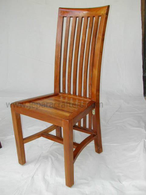 teak dining chairs indoor photo - 4