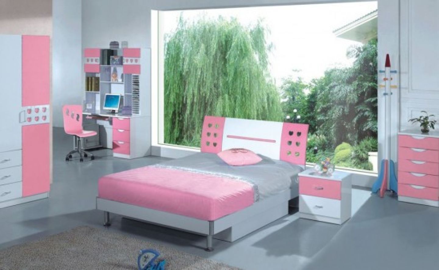 teenage girls bedroom furniture ideas photo - 4