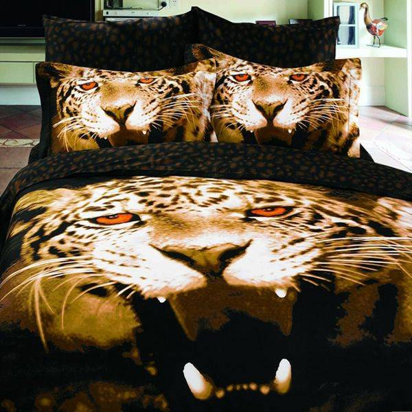 tiger bedroom decor photo - 1