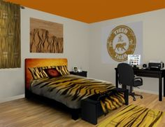 tiger bedroom designs photo - 2