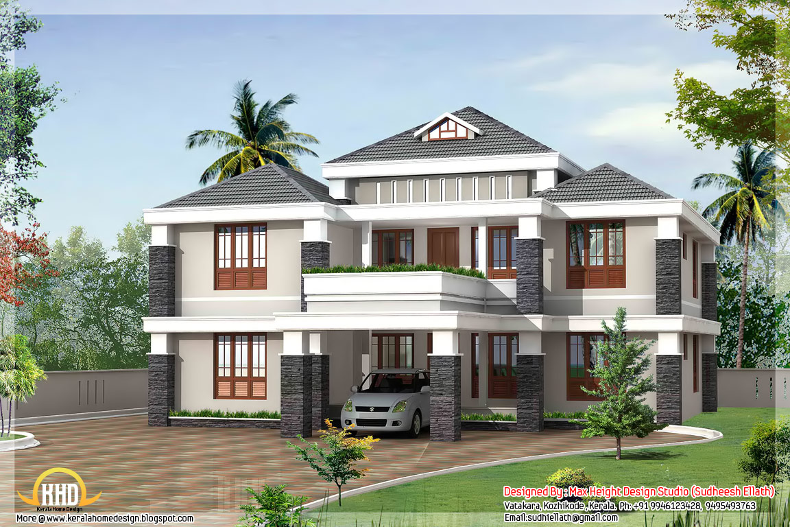 traditional 5 bedroom house plans photo - 1