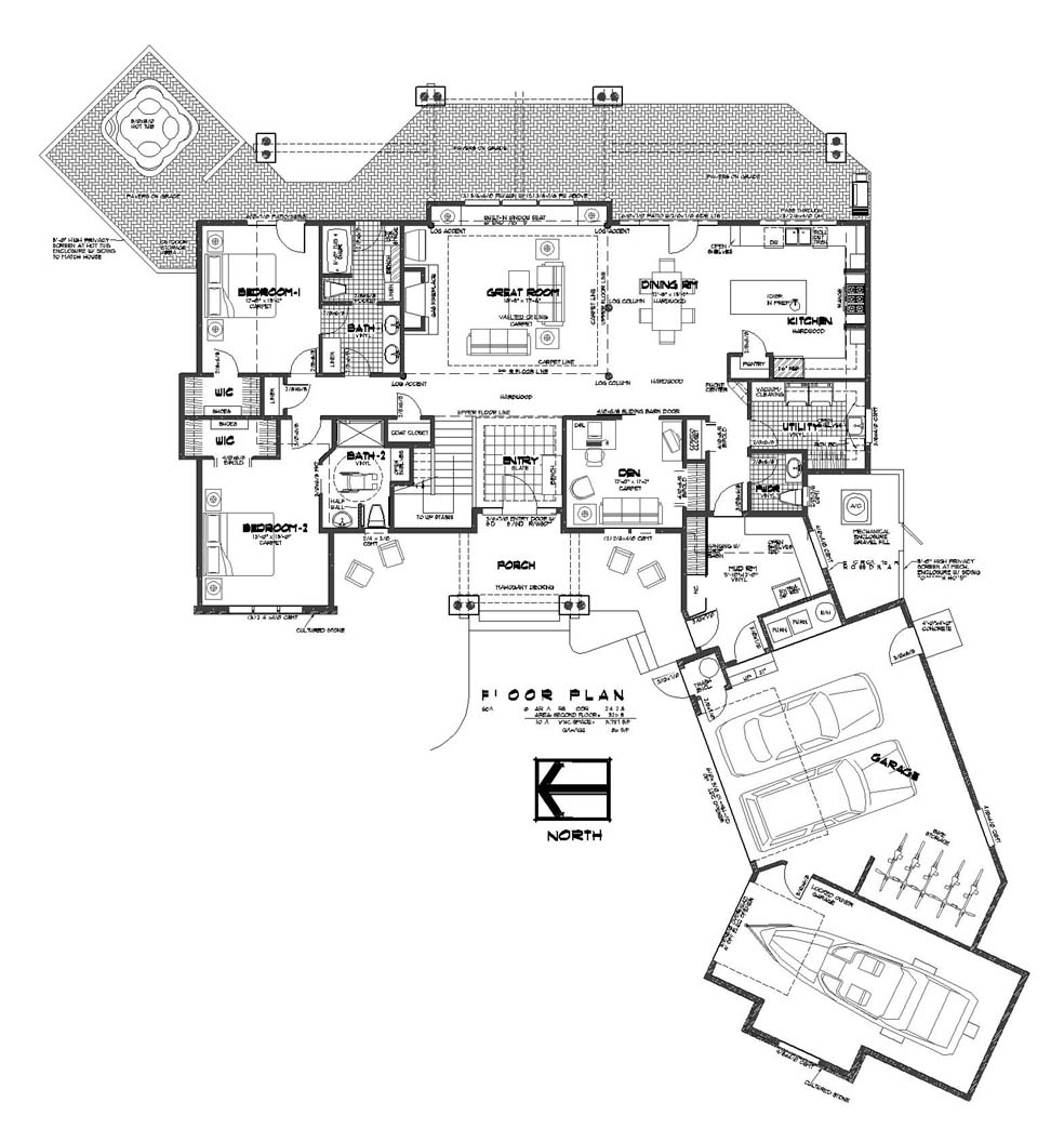 traditional 5 bedroom house plans photo - 6