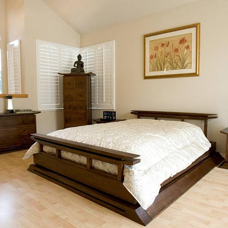 traditional asian bedroom furniture photo - 2