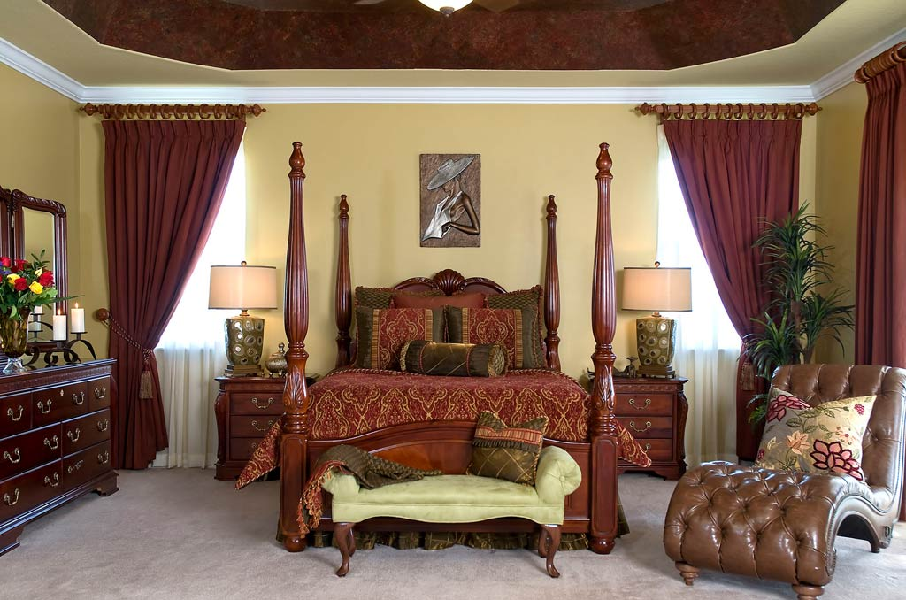traditional bedroom colours photo - 1