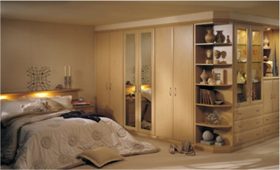 traditional bedroom cupboards photo - 5