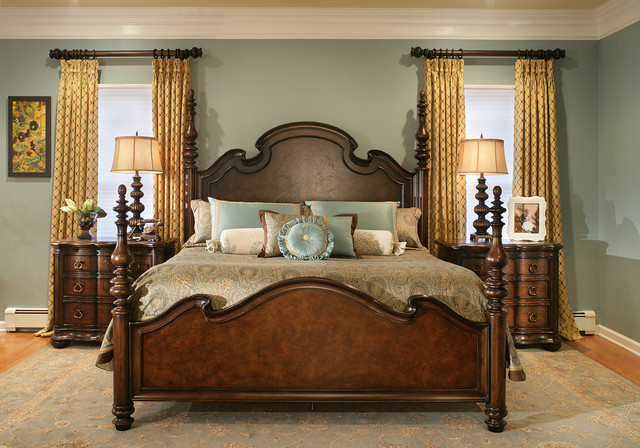 traditional bedroom designs master bedroom photo - 2