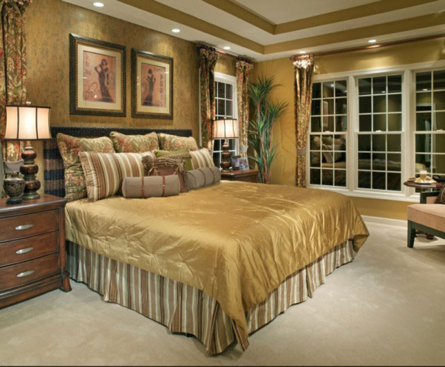 traditional bedroom designs master bedroom photo - 3