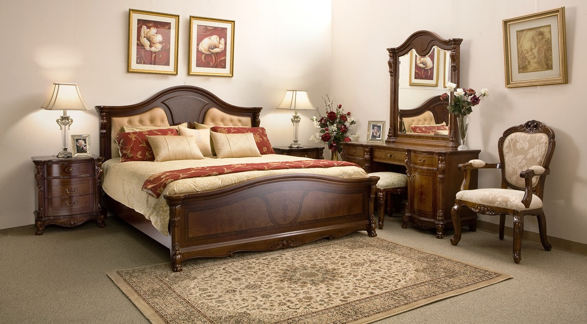 Nice Traditional Bedroom Furniture Designs Photo   6 Images