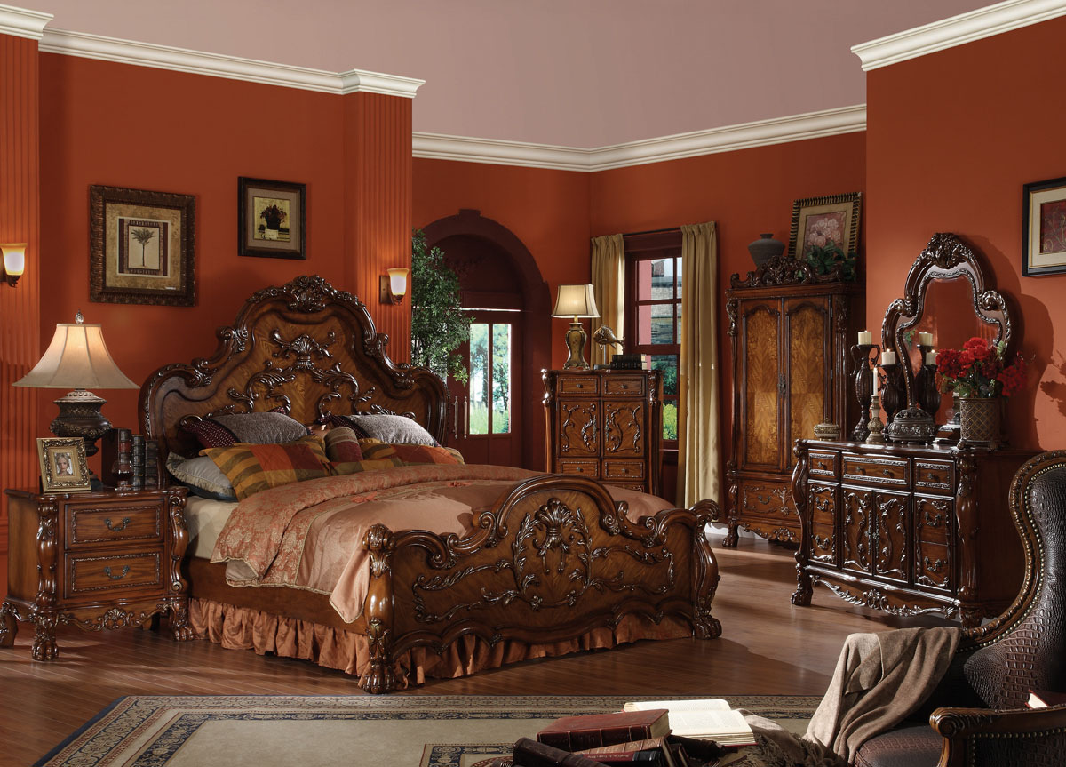 traditional bedroom furniture sets photo - 2