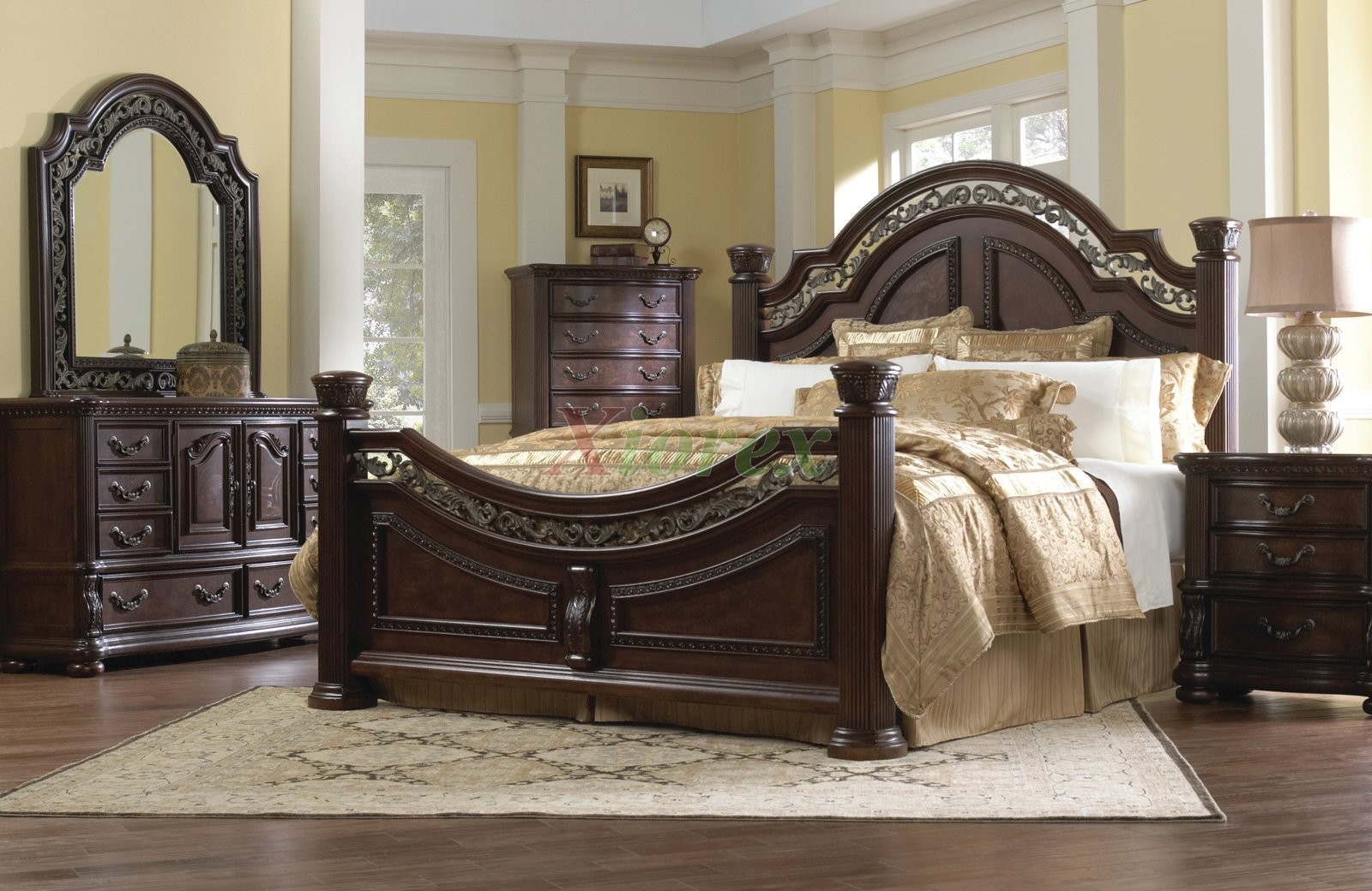traditional bedroom furniture sets photo - 4