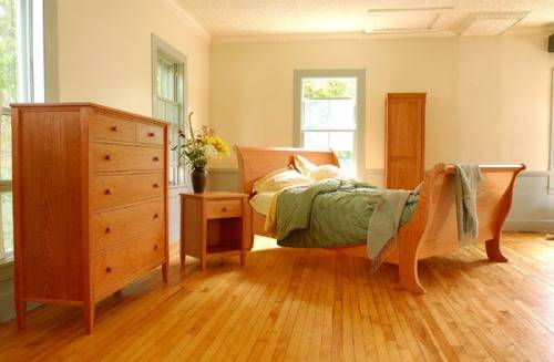 traditional bedroom layout photo - 2