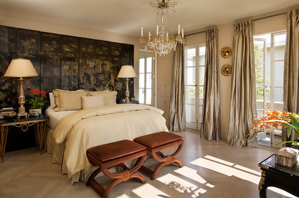 traditional bedroom layout photo - 6