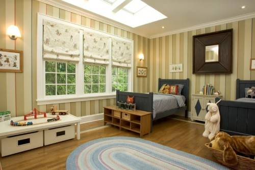 traditional boys bedroom interiors photo - 1