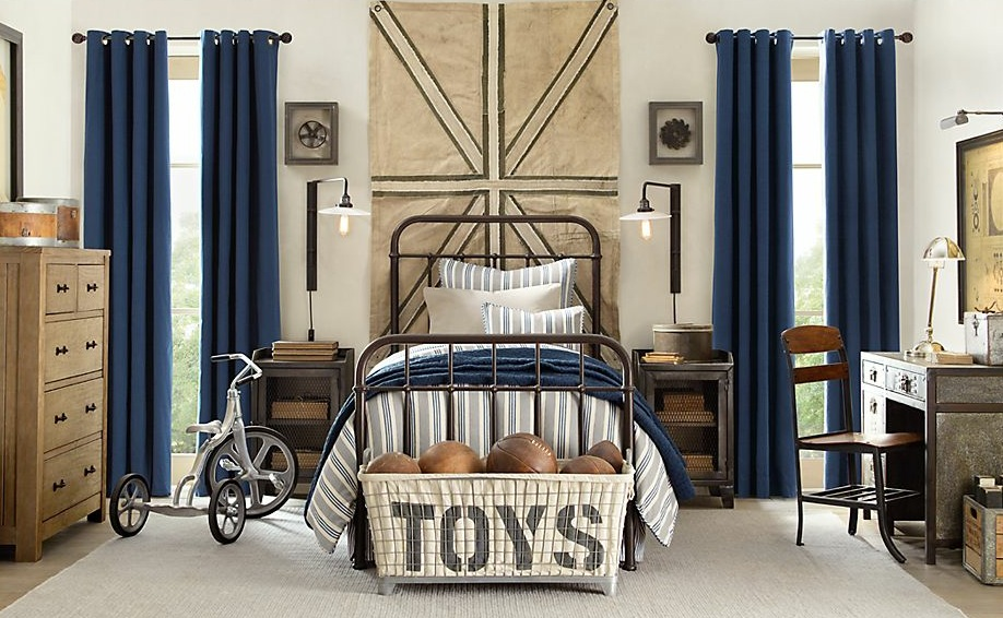 traditional boys bedroom interiors photo - 5