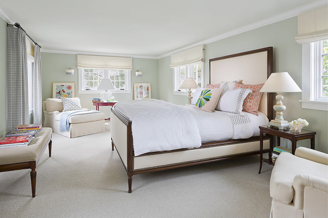 traditional english bedroom design photo - 5