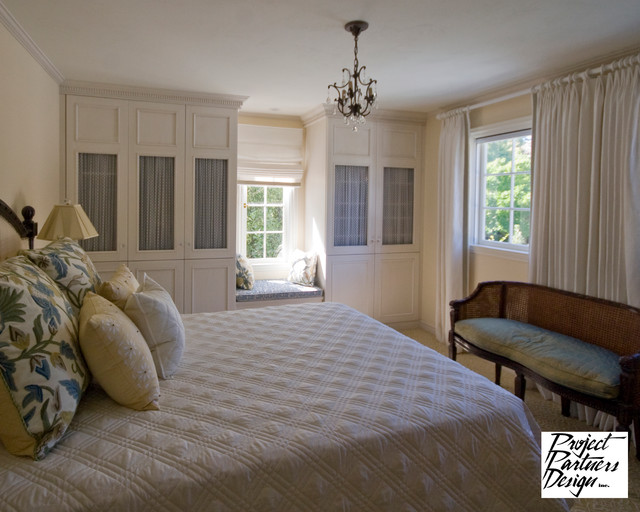 traditional english bedroom design photo - 6