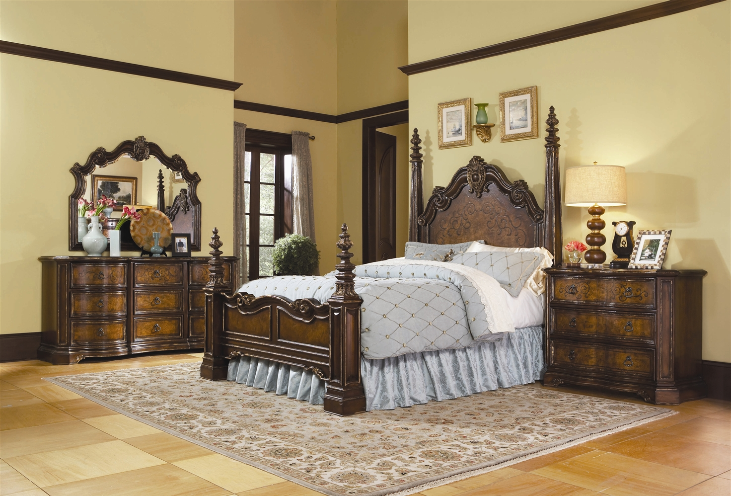 traditional european bedroom sets photo - 1