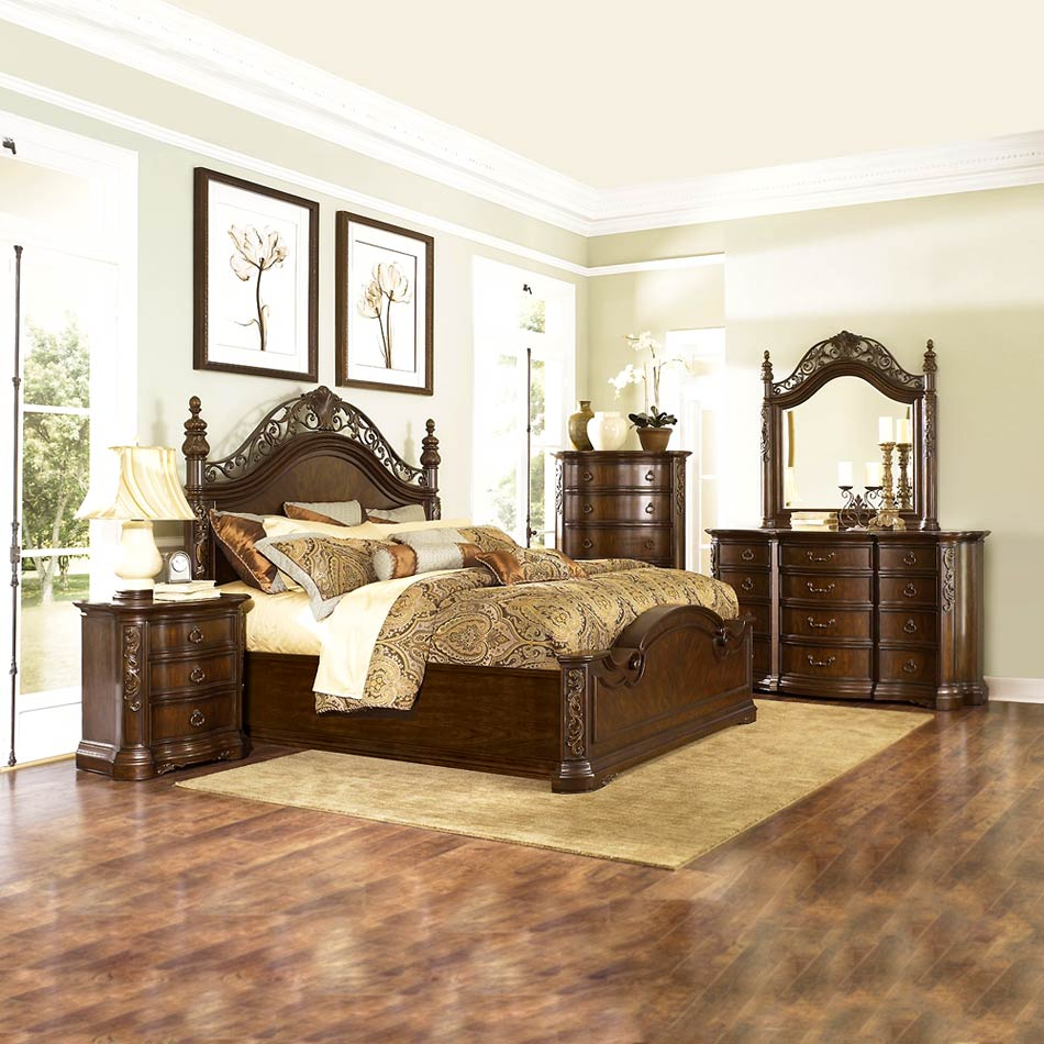 traditional european bedroom sets photo - 2
