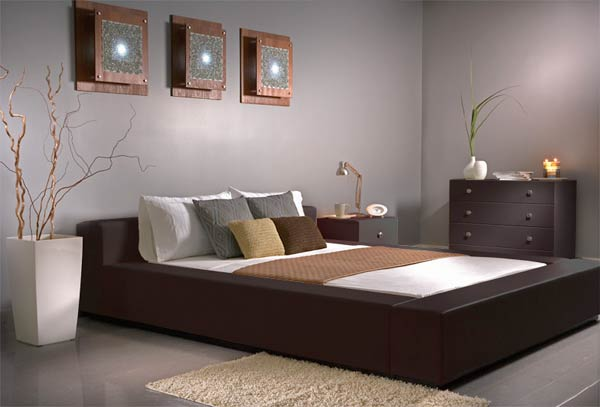 traditional modern bedroom decorating photo - 5