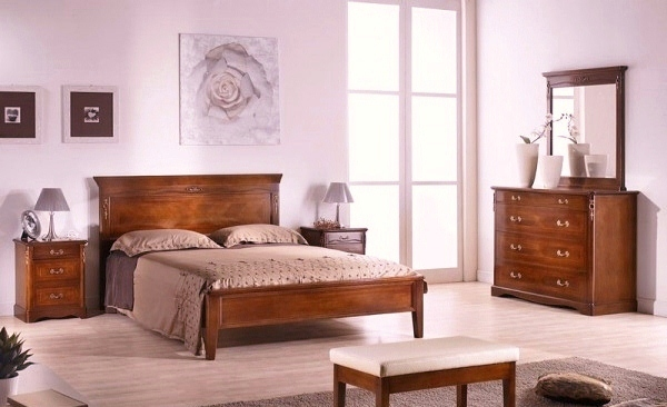 traditional modern bedroom design photo - 5
