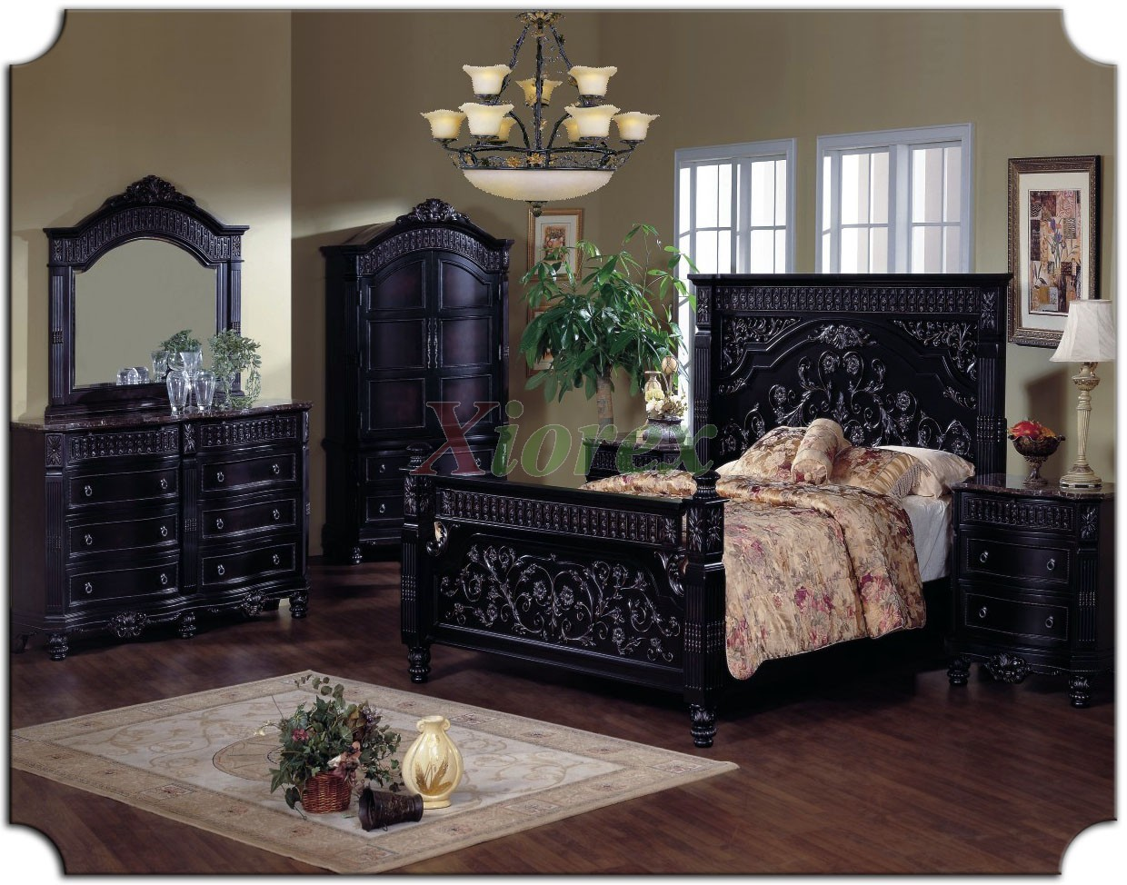 traditional poster bedroom sets photo - 6
