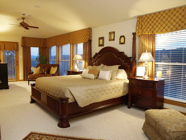 traditional quality bedroom furniture photo - 3