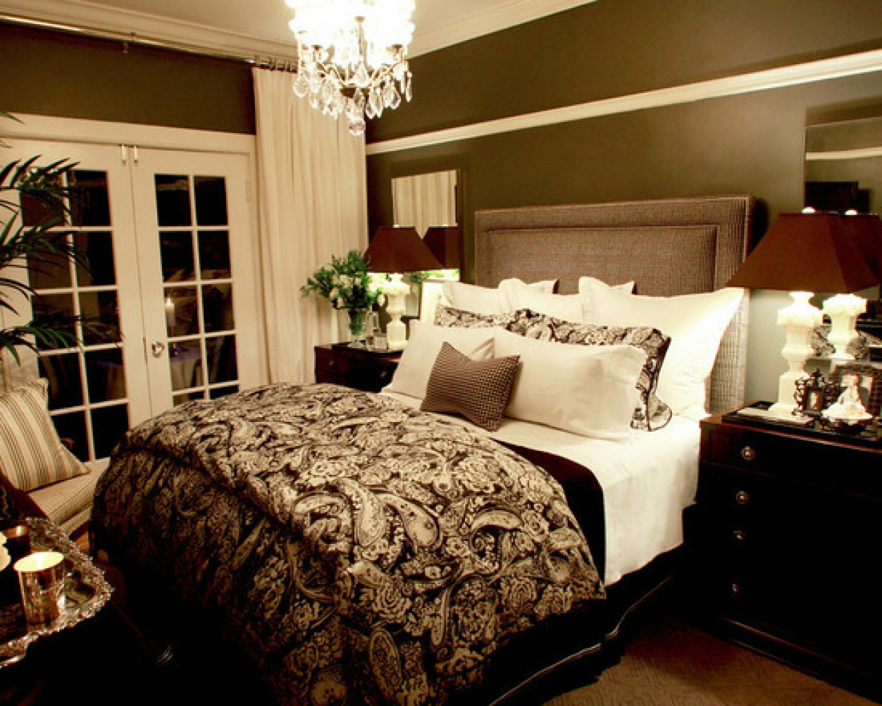 traditional romantic bedroom ideas photo - 1