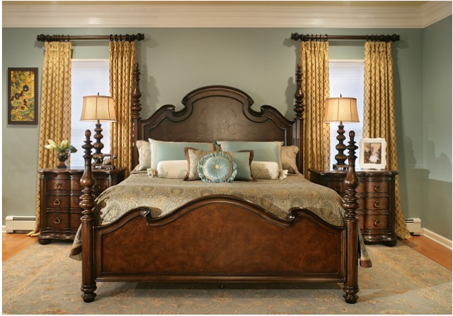 traditional romantic bedroom ideas photo - 3