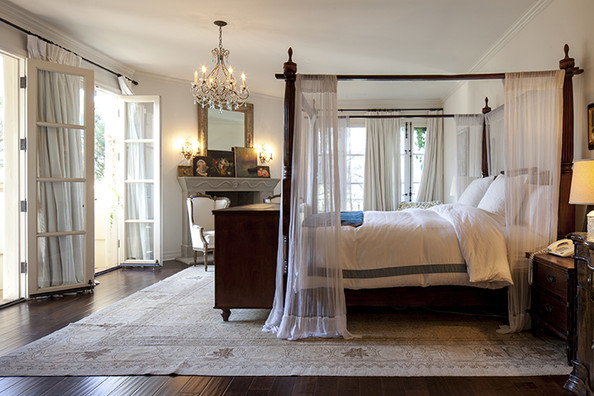 traditional romantic bedroom ideas photo - 6