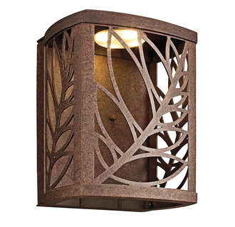 tropical outdoor wall lighting photo - 6