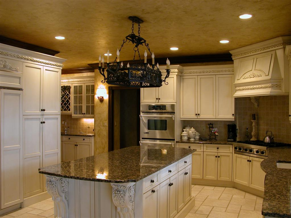 tuscan kitchen cabinets ideas photo - 3
