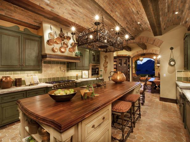 tuscan kitchen cabinets ideas photo - 4