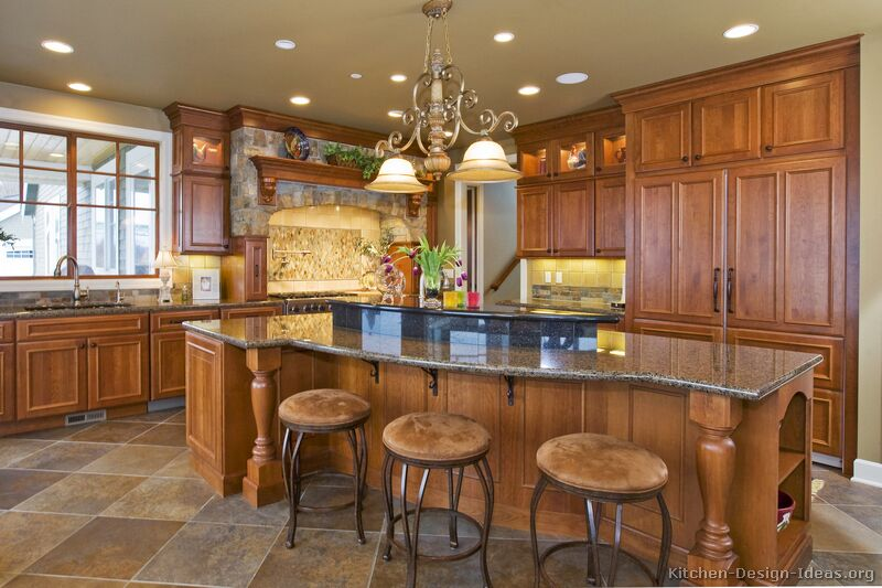 tuscan kitchen cabinets ideas photo - 6