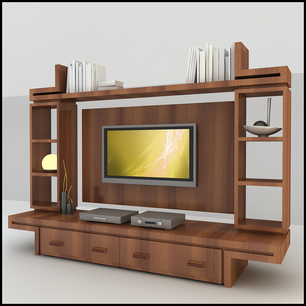 Awesome Living Room Paint Modern Tv Wall Unit Decorating Furniture ...