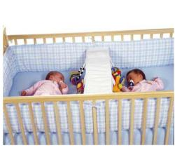 twin baby crib divider photo - 1